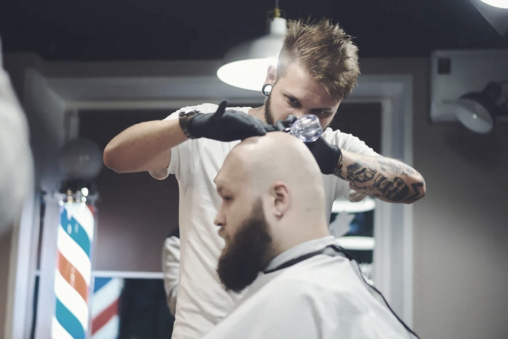 Мужская стрижка